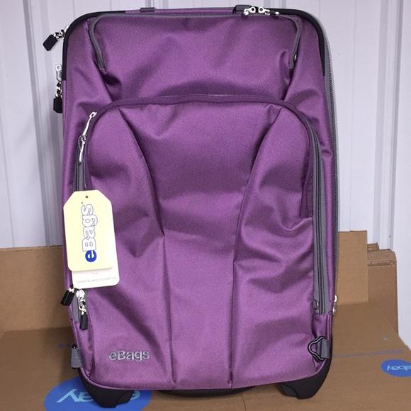 1344c10b0 eBags Bags | Tls 22 Convertible Wheeled Carry On Purple | Poshmark